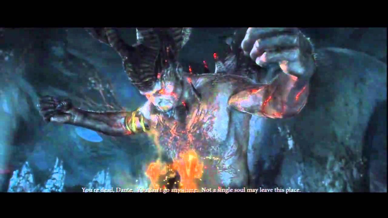 Dantes Inferno Ending - YouTube