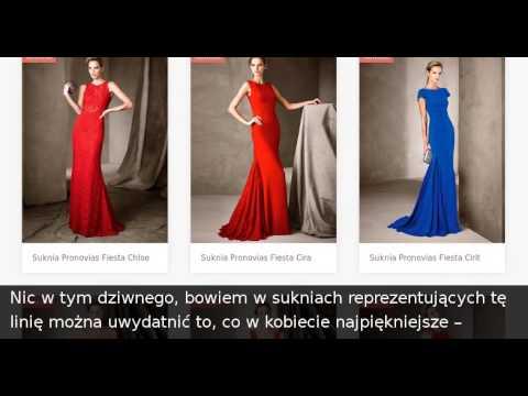 ffc849b1f3 Suknie wieczorowe Pronovias Fiesta - Młoda i Moda - YouTube