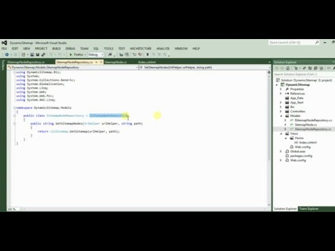 Dynamic Sitemap For ASPDOTNET MVC  For Search Engine Indexing [Bangla]