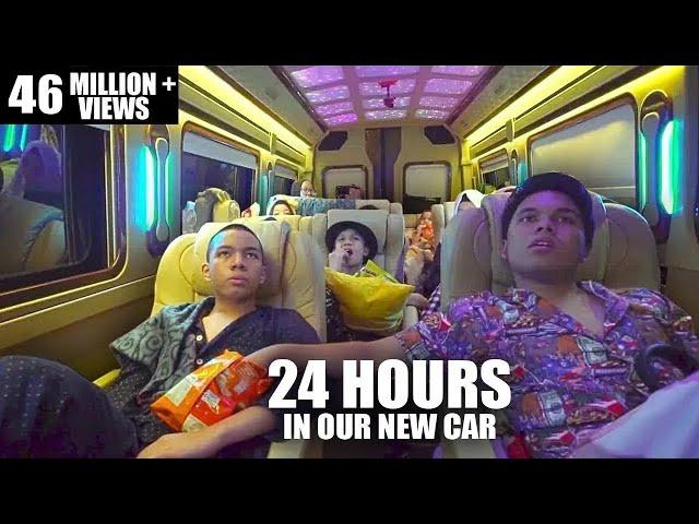 GenHalilintar 24 Jam Di Mobill Baru.....Rusuh Tidur Berjamaah