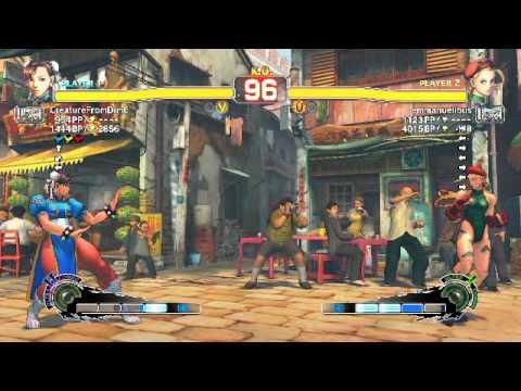 Ultra Street Fighter IV battle: Chun-Li vs Cammy