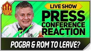 Pogba To Go? Solskjaer Press Conference Reaction!