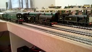 Winston Churchill Funeral + Return From Dunkirk + BR SR Push-Pull Trains/Sets. Hornby Triang.