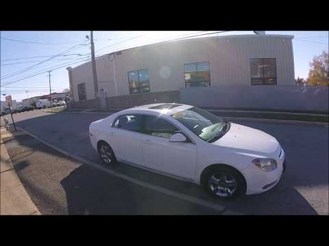 2009 White /Gray Chevrolet Malibu LT1 (1G1ZH57B394) with an 2.4L L4 DOHC 16V engine, Automatic transmission, located at 577 Chester Pike, Prospect Park, PA, 19076, (610) 237-1015, 39.886154, -75.302338 - Photo #0