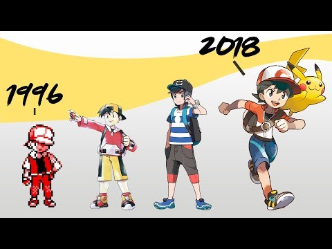 The Great History Of Pokemon (1996 - 2018)