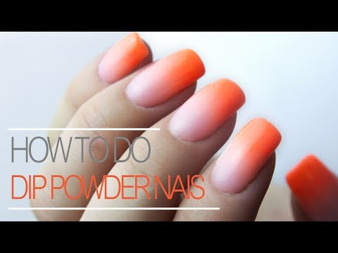 How To Do Ombre With Dip Powder Nail Tutorial thumbnail