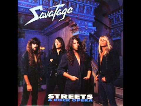 SAVATAGE -Streets:A Rock Opera 1991 (Full Album)