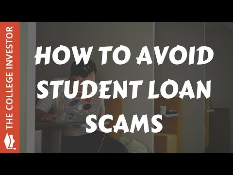 federal student loan scams