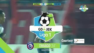 Video Gooooooll!!! Thiago Furtuoso - Arema FC VS Borneo Fc 1-0 - skor sementara Liga Gojek 2018 download MP3, 3GP, MP4, WEBM, AVI, FLV April 2018