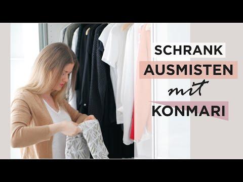 Traum Garderobe Erstellen Konmari Methode Das Weiße Reh