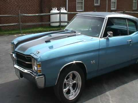 1971 chevelle ss 454 youtube. Black Bedroom Furniture Sets. Home Design Ideas