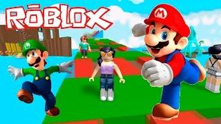 Roblox - PARKOUR DO MARIO BROS (Flucht do Mario) | Luluca Spiele