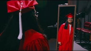 Wearing the Red Robes — NC State Graduation 2018 — Laasya Vulimiri