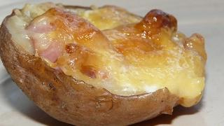 Картошка в духовке с беконом. Что приготовить на ужин, на обед?(Картофель в духовке)