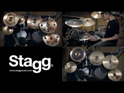 Stagg Cymbal Playthrough by Grumble Bee (Sensa, Myra, Black Metal, Furia + more)