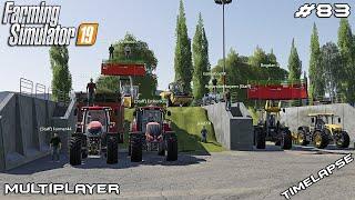 Grass SILAGE harvest in Italy   Italia Demo   Multiplayer Farming Simulator 19