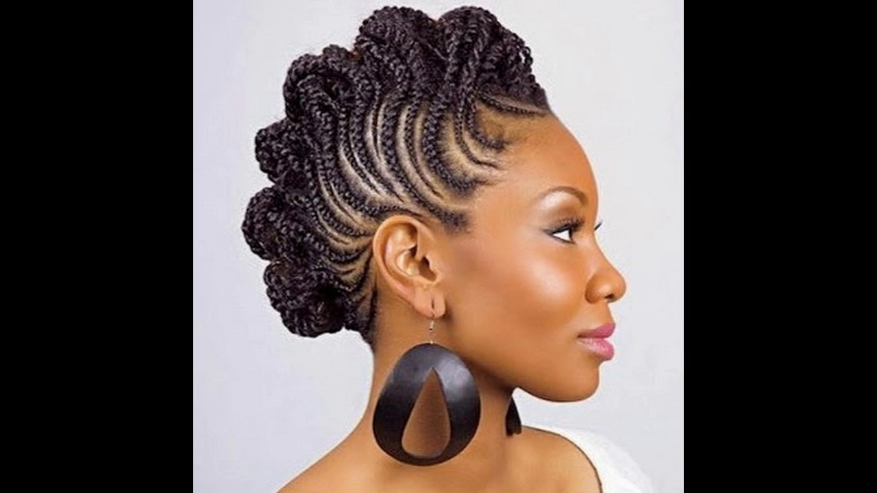 style de coiffure femme africaine youtube. Black Bedroom Furniture Sets. Home Design Ideas