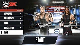WWE 2K: Undertaker VS Kane Part 1
