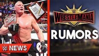 Brock Lesnar Signing New WWE Contract?! WrestleMania 35 Rumors! - WWE News Ep. 230