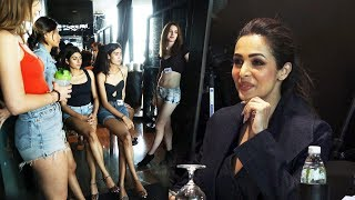 Lakme Fashion Week Mumbai Model Audition With Malaika Arora