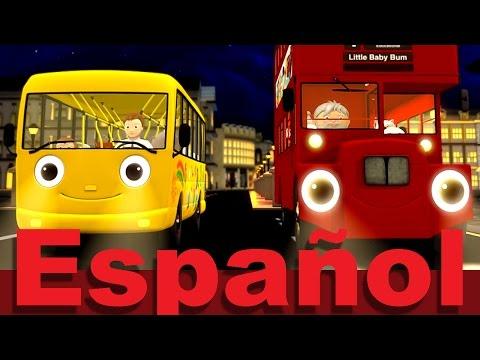 Las ruedas del autobús | Parte 7 | Canciones infantiles | LittleBabyBum