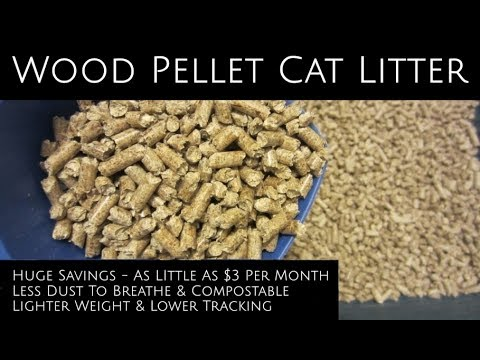 Cheap Pellet Cat Litter - Save Big & Breathe Easier - Plus A $1 DIY Sifter