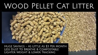 Cheap Pellet Cat Litter - Save Big & Breathe Easier - plus a $1 DIY Sifter