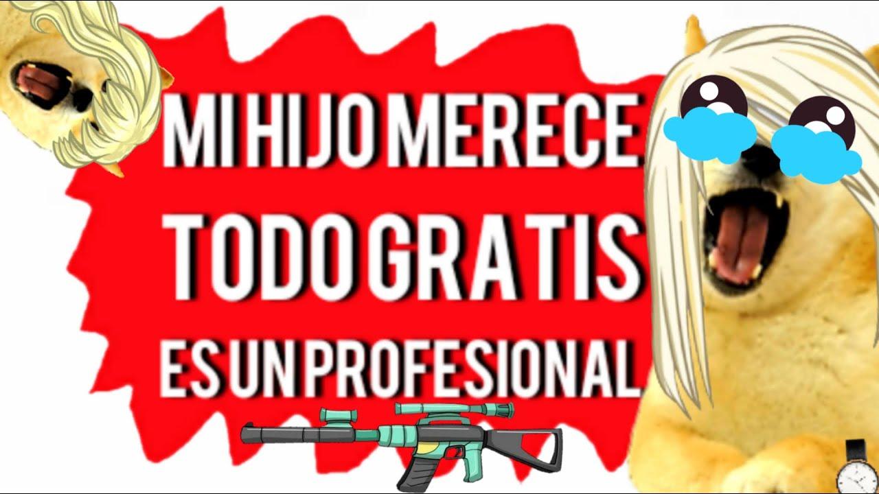 Madre con derecho quiere TODO el EQUIPO GAMER gratis - especial 158k suscriptores