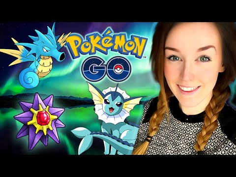 Pokemon GO W/ Ali! - ICELAND ADVENTURE! (PART 1!)