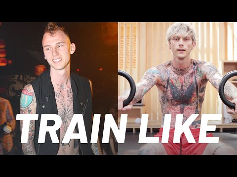Machine Gun Kelly's Transformation Workout Routine | Train Like a Celebrity | Men's Health