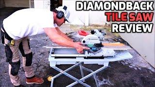 diamondback tile saw review by harbor
