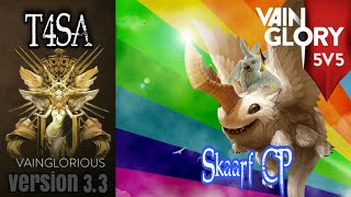 5v5 T4SA | Skaarf CP - Vainglory hero gameplay from pro player