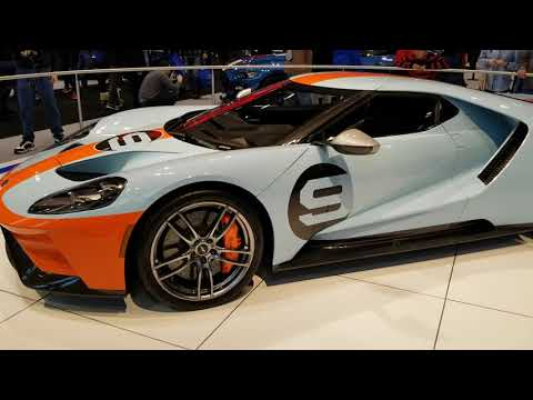 2019 FORD GT Heritage Edition Walkaround - Chicago Auto Show 2019
