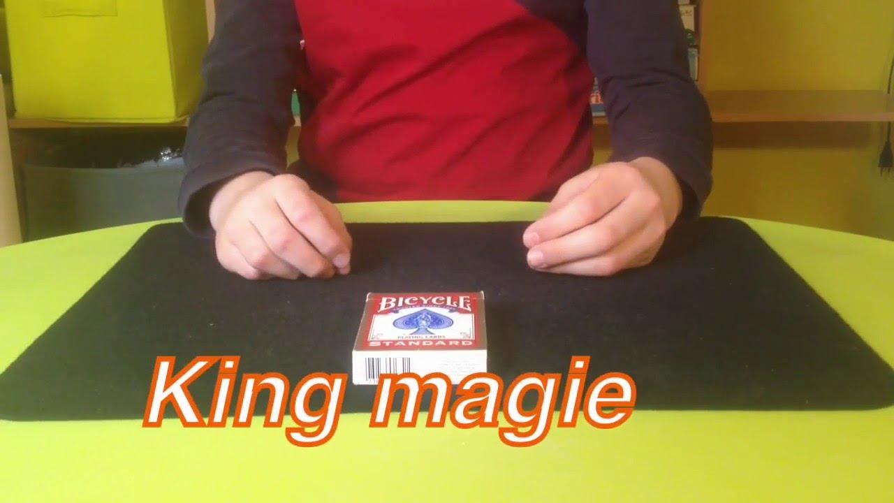 tour de magie carte bluffant
