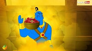 ➺ Aladdin And The Lamp - Arabian Nights In English - Cartoon / Animated Stories