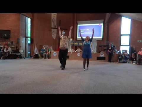 Fusion Dance. Ballroom and Davidic Dance