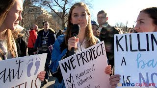 March for Life Youth Reveal 'Why Are You Pro-Life?'