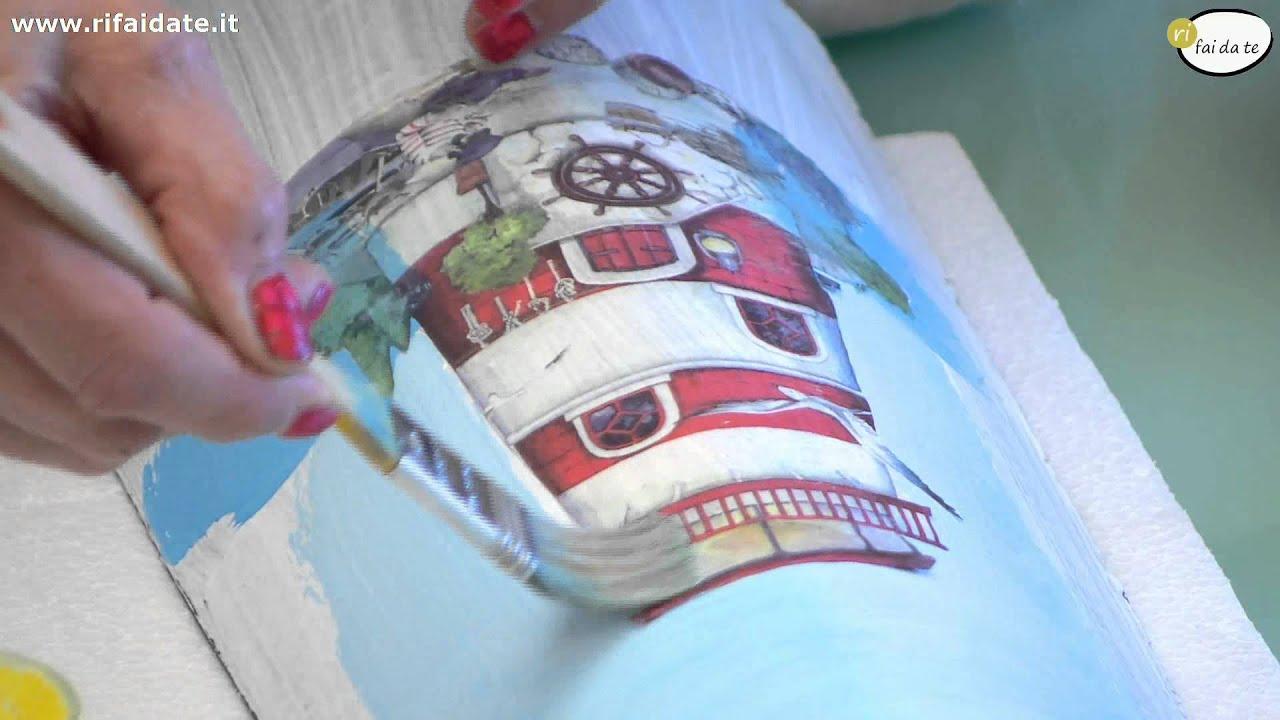 Come Dipingere Vecchie Tegole decorare le tegole parte 1