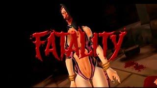 Mortal kombat Unchained PSP + All fatalities + Harakiri + stage fatalities