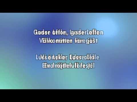 Goder Afton & Lusse Lelle (karaoke - lyrics)
