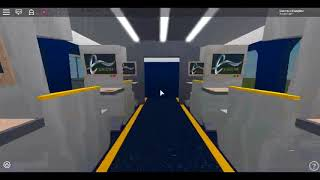 Roblox going inside the New Class 374 E320 Eurostar at the New Station