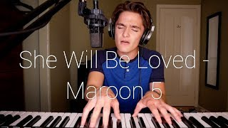 She Will Be Loved - Maroon 5 (Cover By Ian Grey) Video