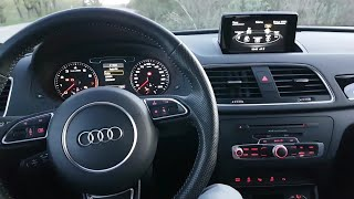 Audi MMI-System Infotaiment tutorial RSQ3/Q3 interior and  in-depth review