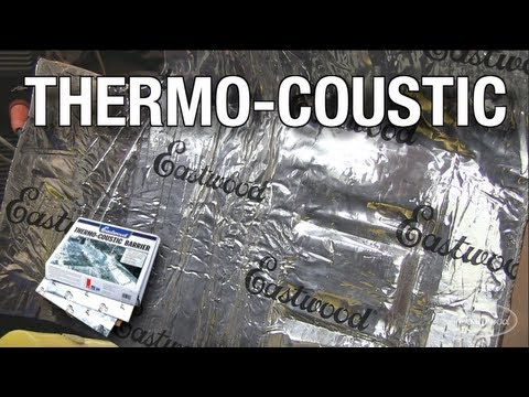 Thermo-coustic Sound Deadener And Heat Shield From Eastwood