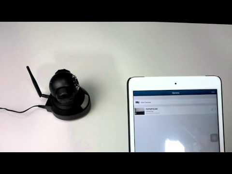 รีวิว การตั้งค่า WIFI กล้อง Ip Camera P2P HD Robot 720P ง