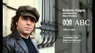 Roberto Alagna | INTERVIEW Radio - ABC Classic FM - 27/02/2016