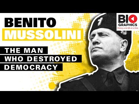 Benito Mussolini Biography: The Man Who Destroyed Democracy