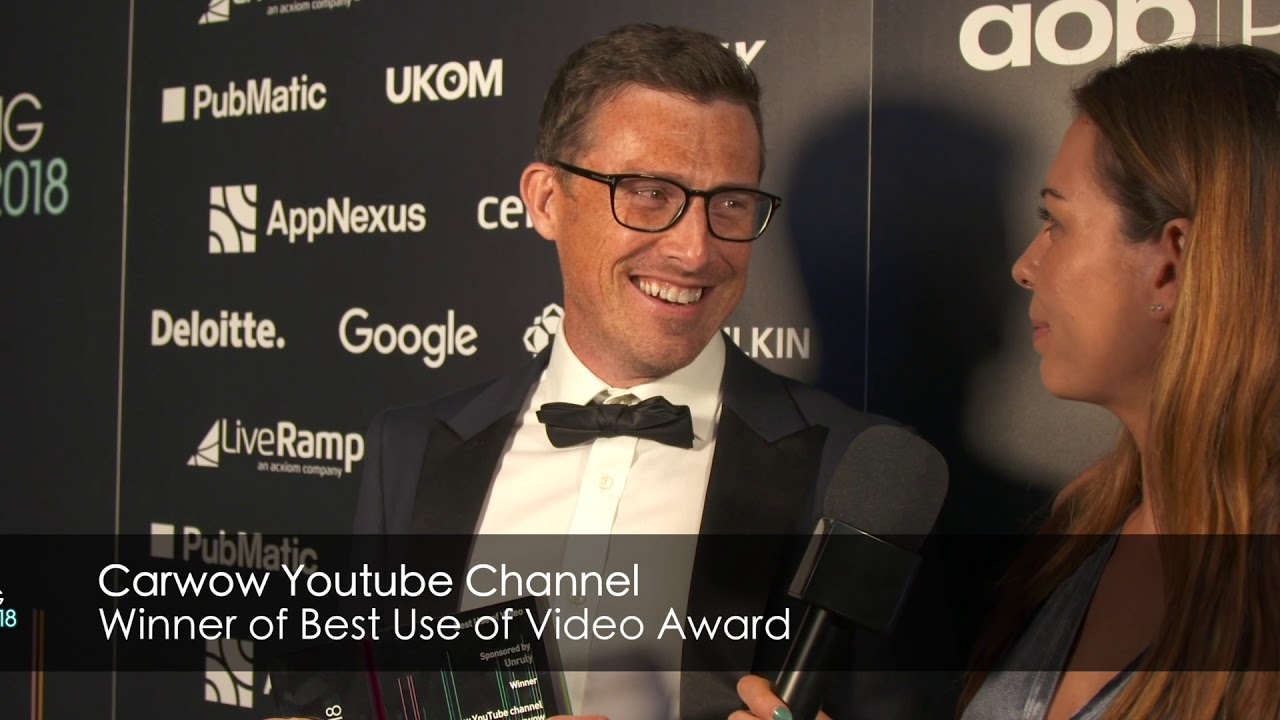 AOP Digital Publishing Awards 2018 Winner - Carwow Youtube Channel