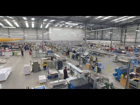 Precision Printing - London Production Facility Tour