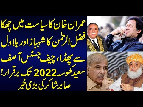 Fazlur Rehman's fight with Shahbaz Sharif and Bilawal Bhutto Sabir Shakir Analysis